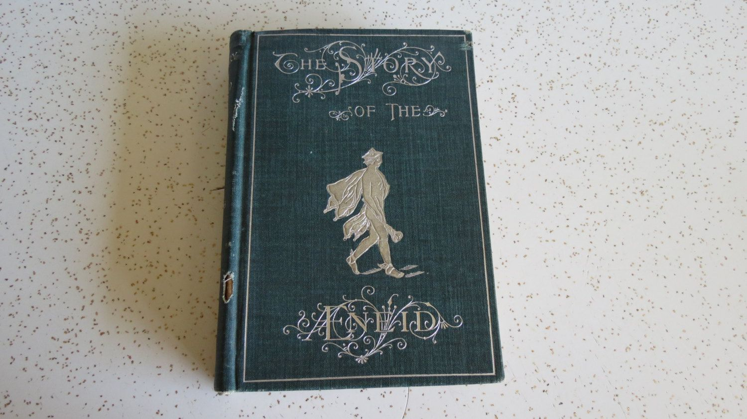 Antique 1899 The Story of the Aneid or The Adventures of Aeneas for Boys and Girls by Dr. Edward Brooks *AS IS* by TheDustyBookNook on Etsy