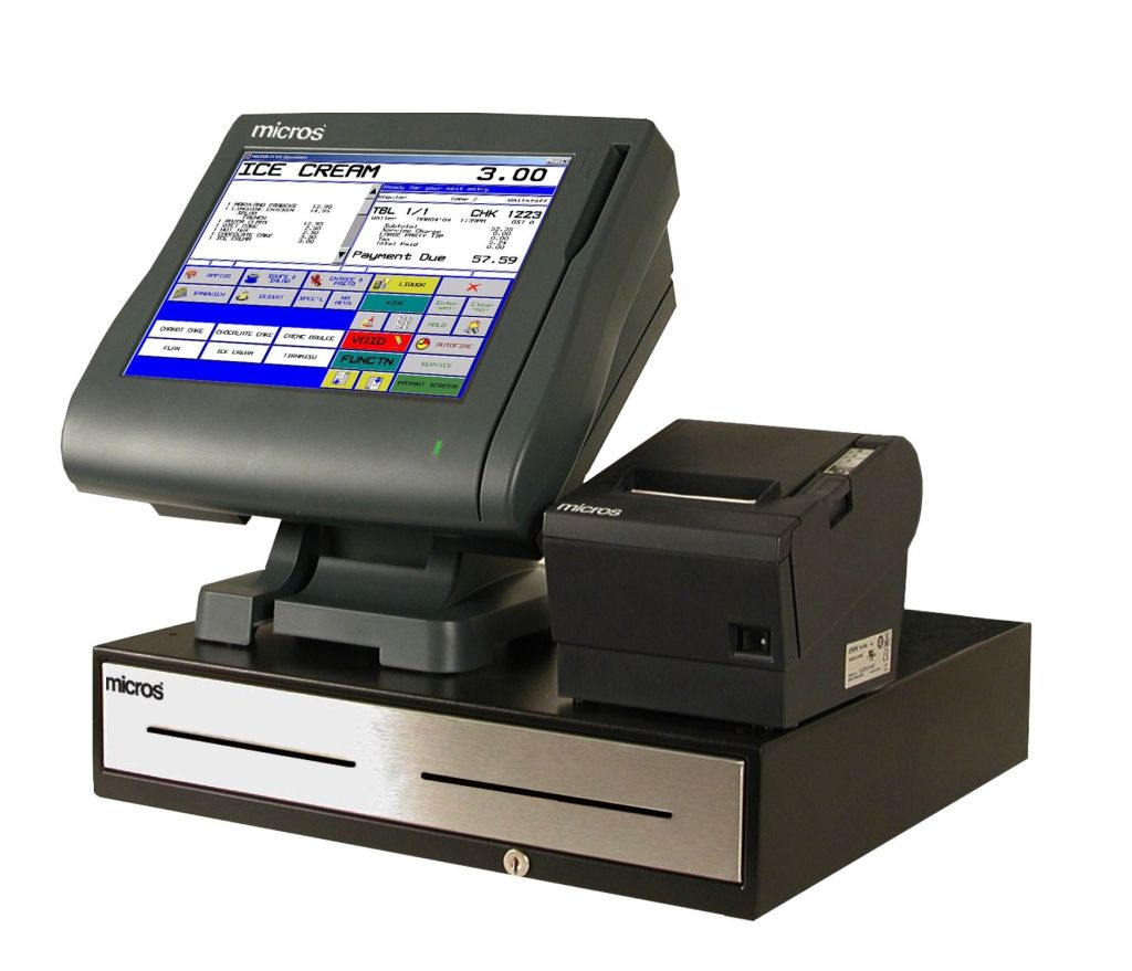 Micros Pos Credit Card Terminals Point Of Sale