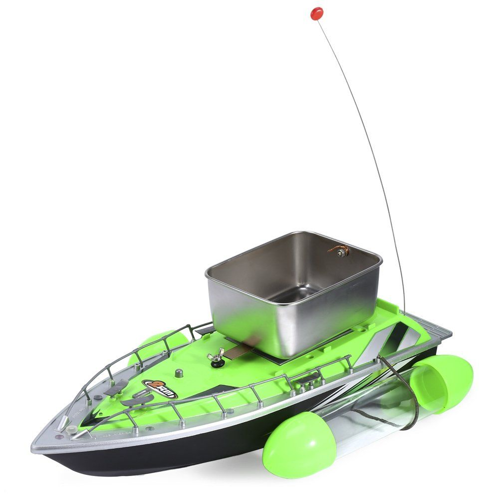 Smartlife Mini Rc Wireless Fishing Lure Bait Boat 200m