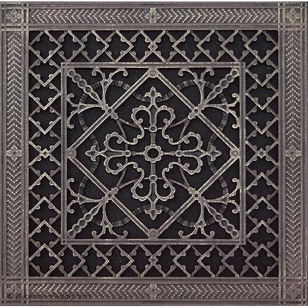 Resin Artes Crafts Grille 12x12 Duct 14 X 14 Frame Bai Hvac Grille Vent Cover Decorators Supply Decorative Grilles Foyer Decorating Decorative Vent Cover