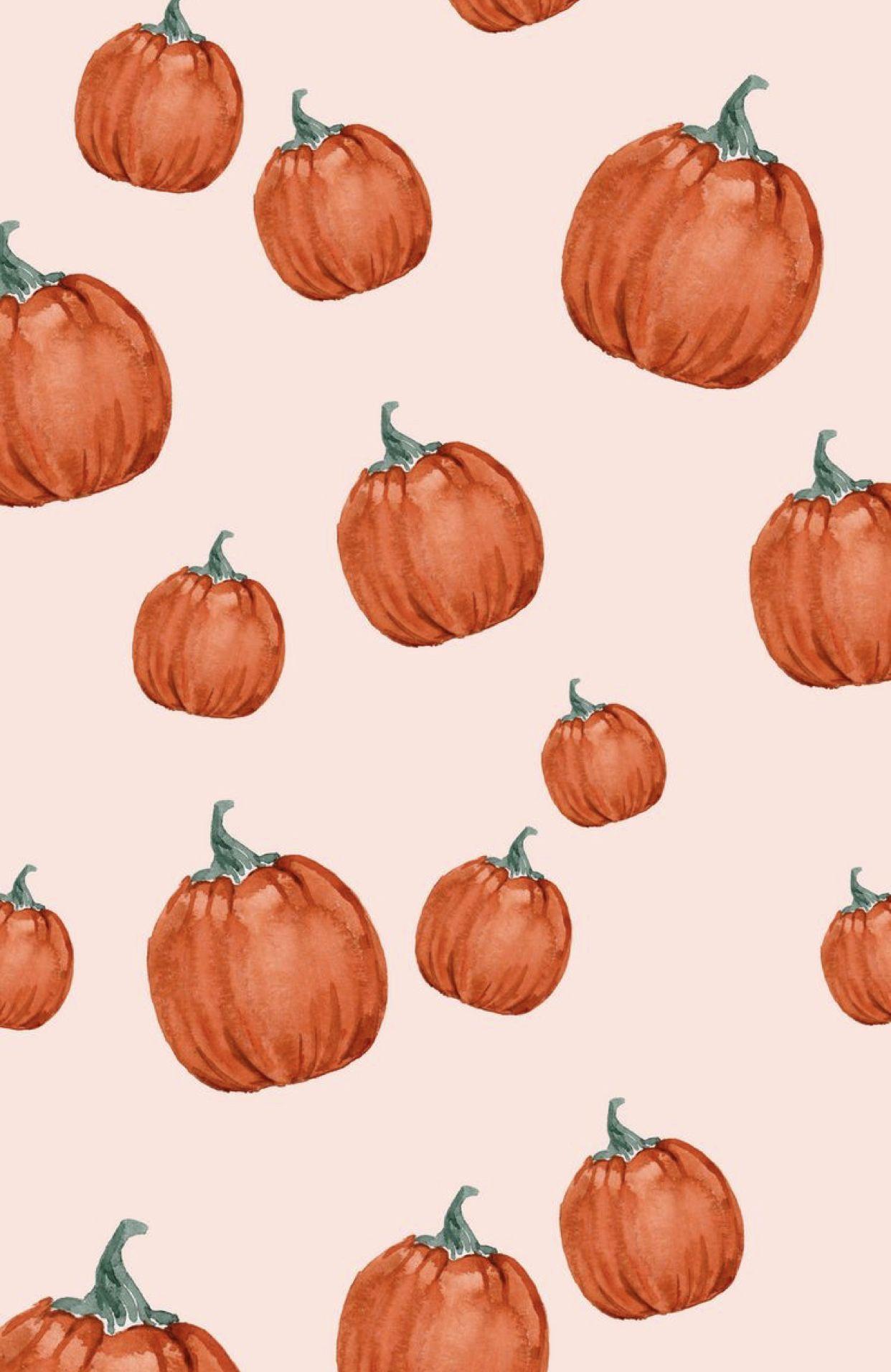 Halloween Fall Autumn Pumpkin Phone Wallpaper Cute Fall Wallpaper Iphone Wallpaper Fall Fall Wallpaper