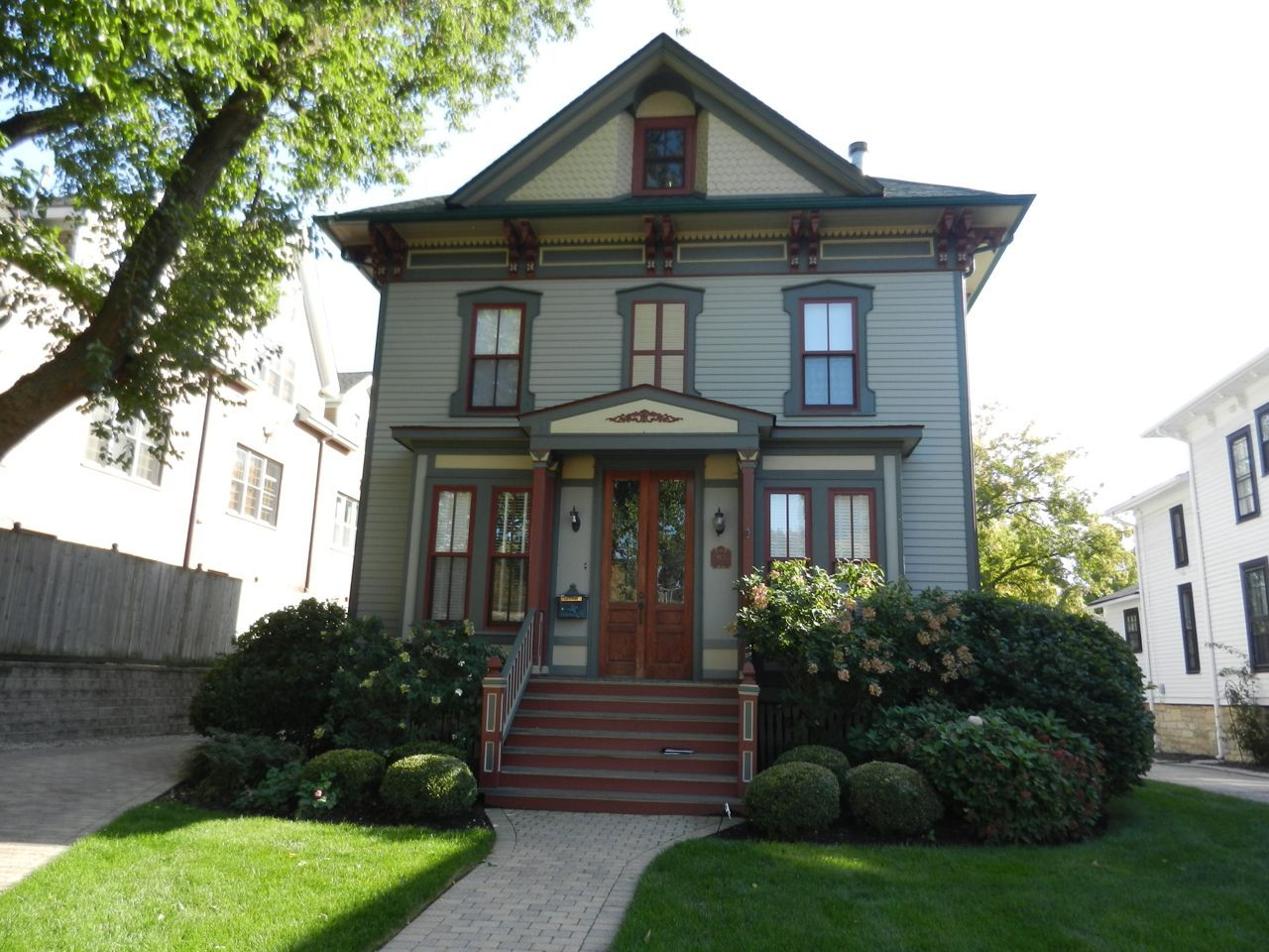 Painted+victorian+homes | Painting Is Critical, Especially For Multi Color  Victorian. House Ideas ExteriorExterior ...