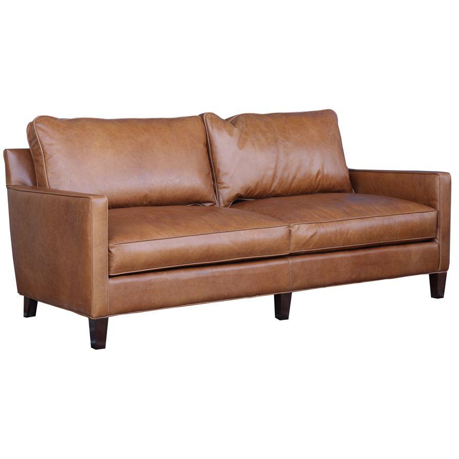 Hanson Leather Sofa L Eco Friendly Sofas Online L Contemporary