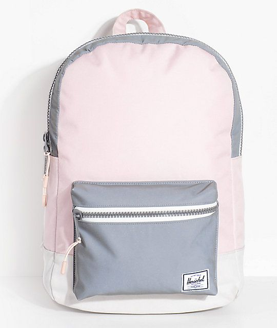 2181ba43e0f Herschel Supply Co. Settlement Mid Cloud Pink Reflective 17L Backpack