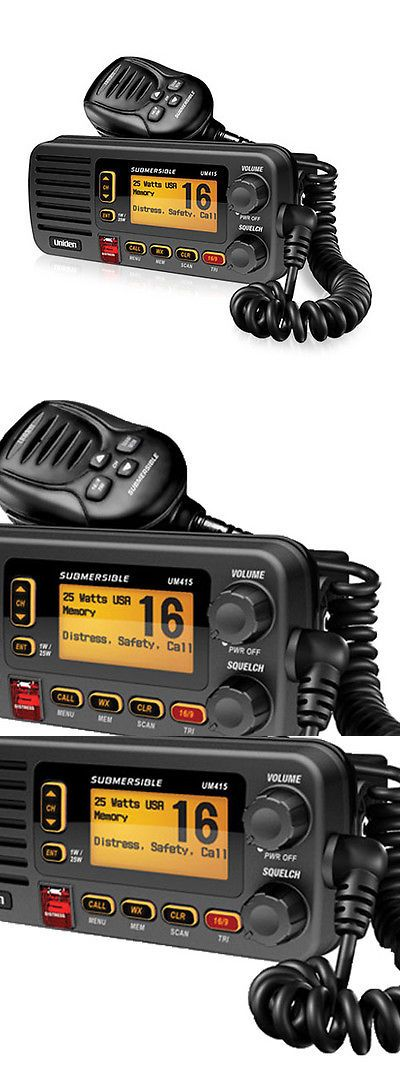 Marine And Aircraft Radios Uniden Um415bk 2 Way Vhf Marine Radio Ultra Compact Rugged Construction New Buy It Now Only 11 Marine Radios Radio Boat Radio