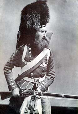 Colour Sergeant Gardiner of the 42nd Highlanders, the Black Watch