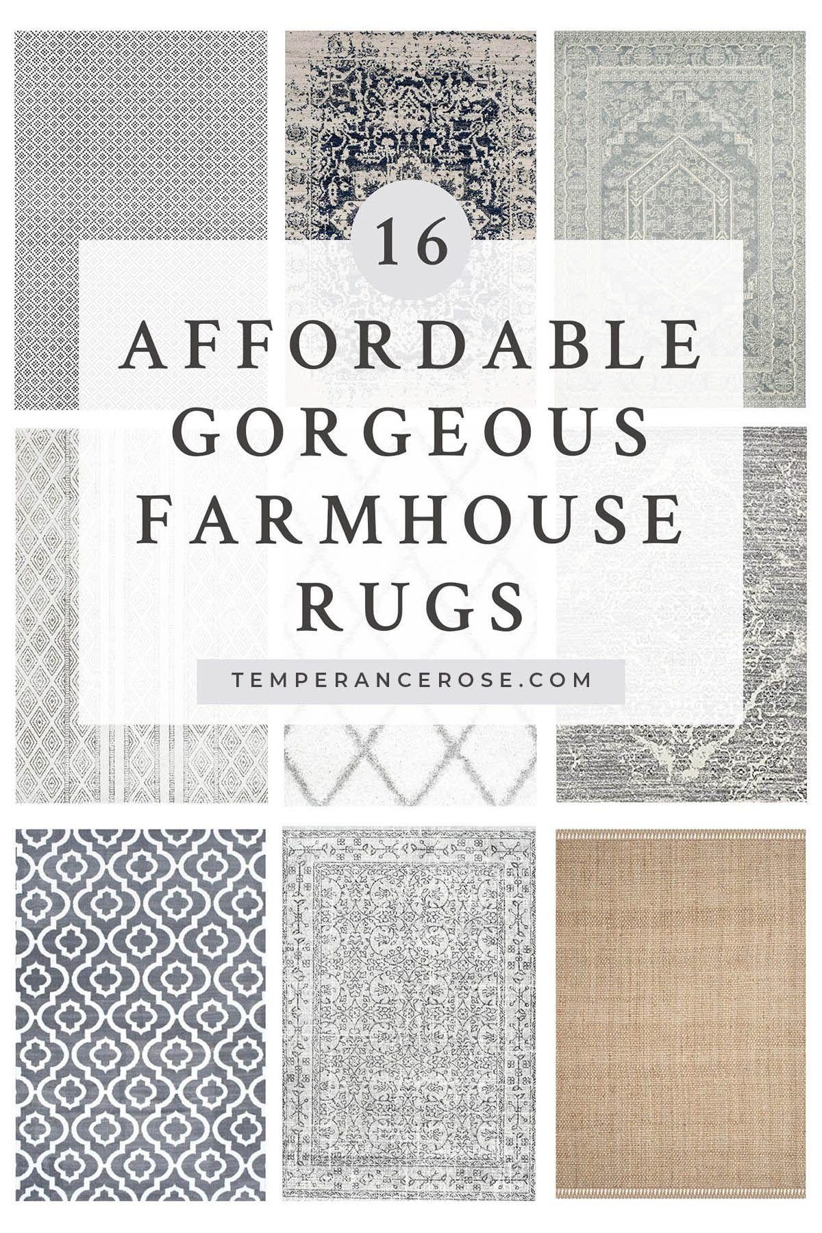 16 Totally Gorgeous Affordable Farmhouse Rugs Farmhouse