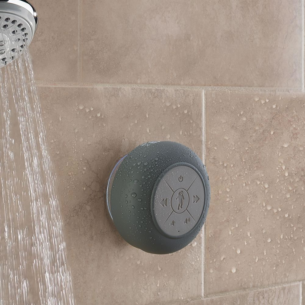 The Best Bluetooth Shower Speaker Hammacher Schlemmer Shower