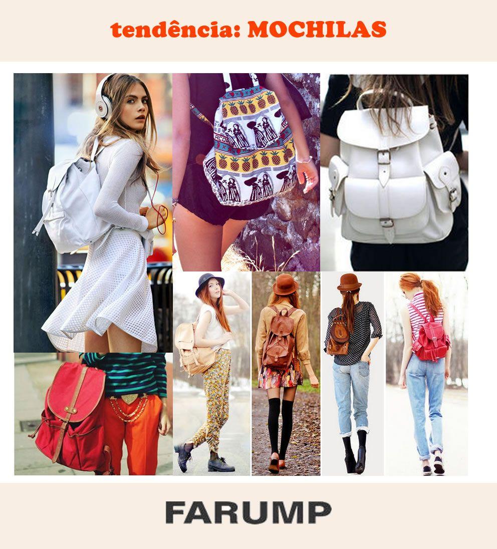 As mochilas femininas estão cada vez mais em alta como item fashion, e não somente utilitário. Veja os modelos que estão ganhando as ruas!