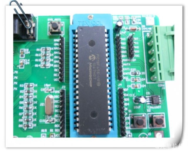 Integrated chip PIC18F458, PIC18F4580 marked model   Car