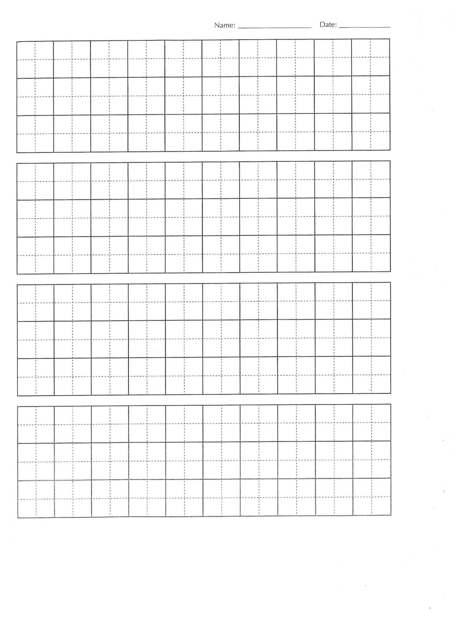 create your own chinese character practise writing sheets
