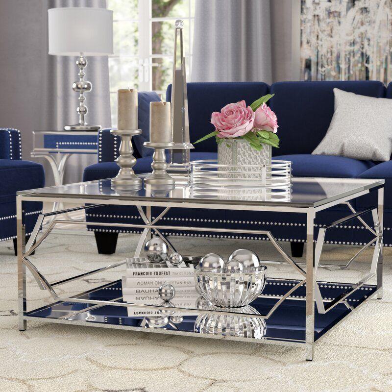 Willa Arlo Interiors Edward Coffee Table w/ Storag