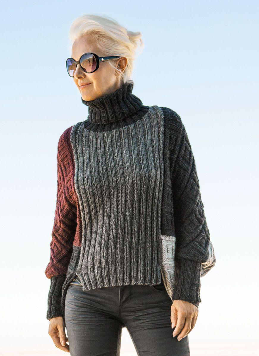 PULLOVER Fatto | Pullover, Knit fashion, Knitting