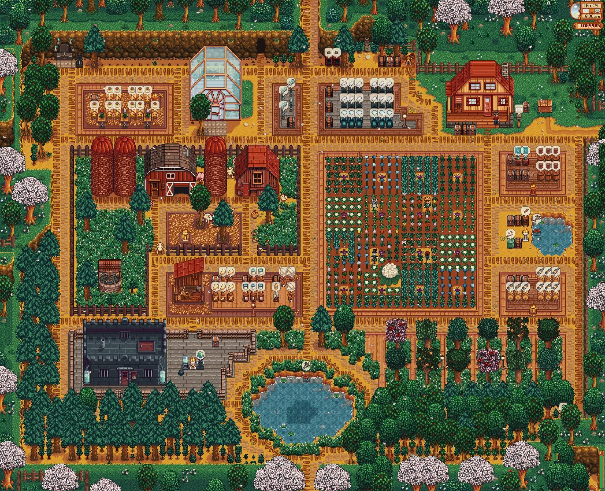 I Mean That Farm Organization Though I Want My Stardew Valley