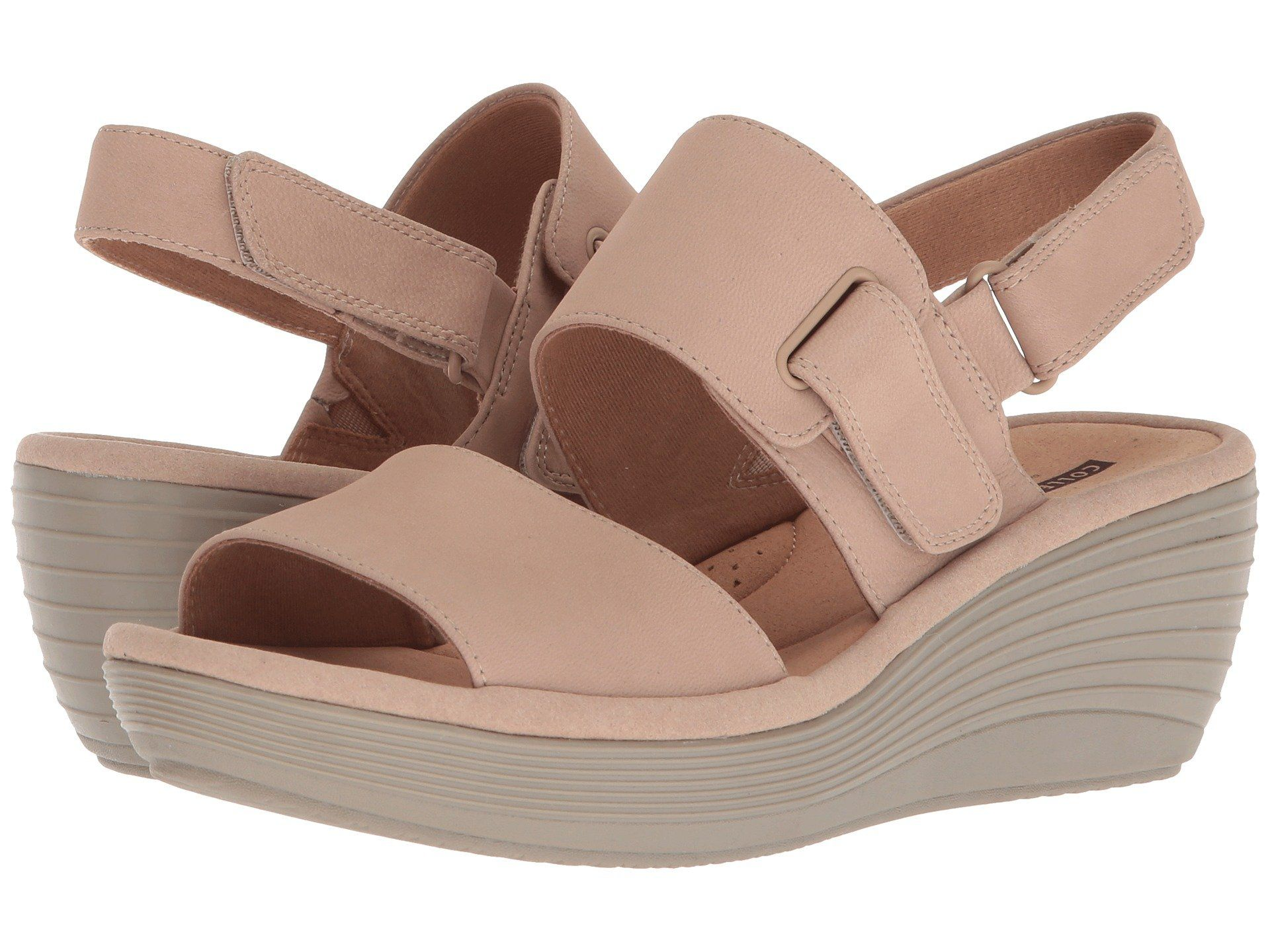 7d0fd463391 Clarks Reedly Breen  Shoproads  onlineshopping  Flat Slip-On   Sandal