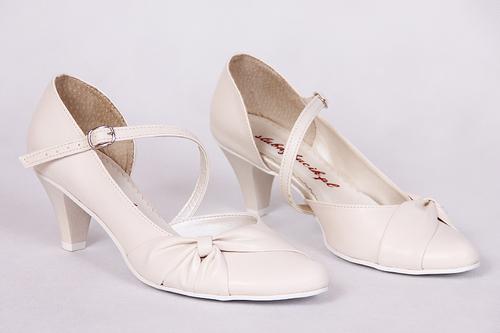 Buty Slubne Skora Smietanka Slubnybucik Pl Shoes Wedding Shoe Fashion