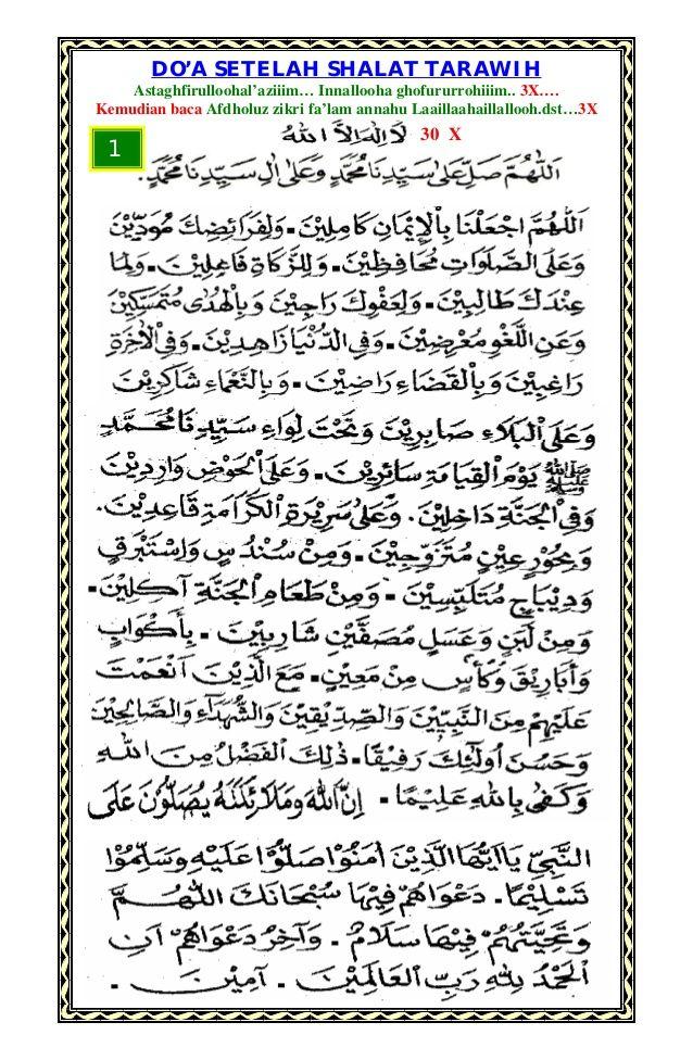 Doa Tarawih Pdf : tarawih, Arsad, (warstar199), Profile, Pinterest
