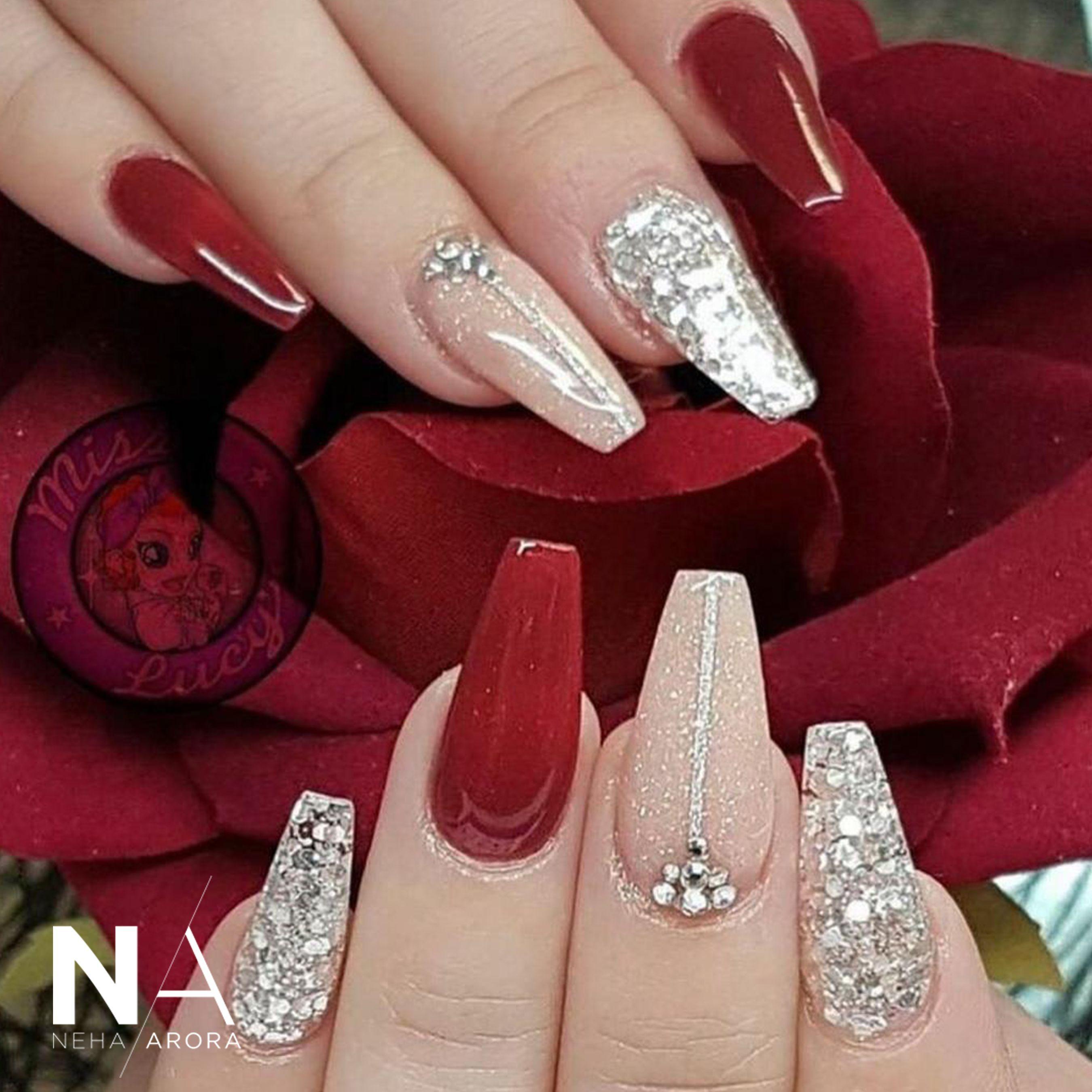 Pin On Bridal Nail Art Designs Bridal Inspiration