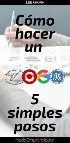 Modoemprendedor I Crear Empresa Ideas De Negocio Motivacion Como Hacer Logos Disenos De Unas Logos Empresariales