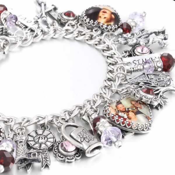 Legacy Bracelet Custom Charm Personalized And Keepsake Blackberry Designs