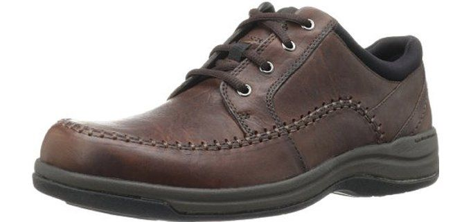 0cb92206148 Clarks Best Dress Shoes for Wide Feet Clarks Portland 2 – Men