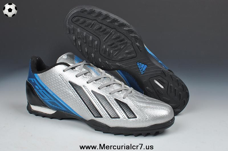 Christian Louboutin shoes on sale Adidas AdiZero TRX TF Football Boots -  Silver Volt Black Blue New Soccer Shoes 2013 [Christian Louboutin Outlet -  Adidas ...