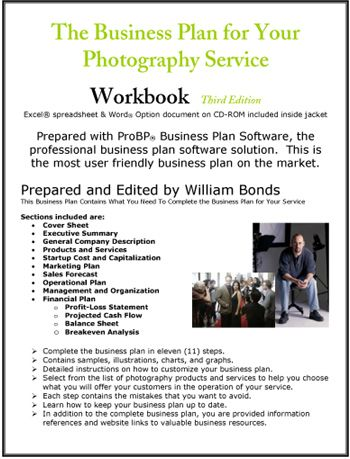Photography Service Business Plan  Business Ideas