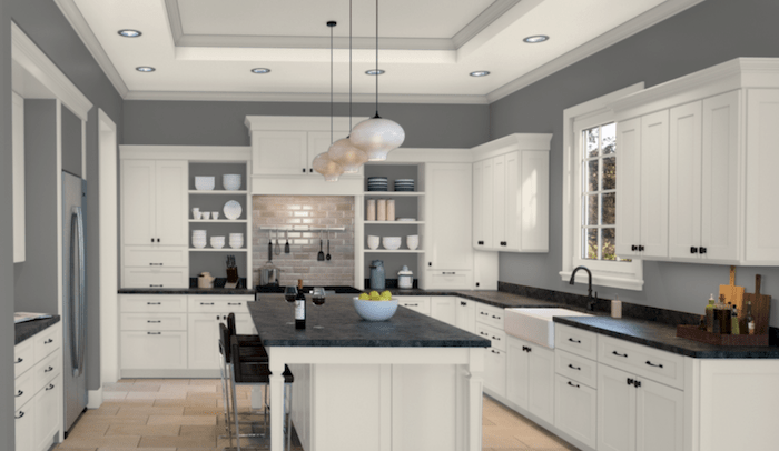Grey Kitchen Colours For Walls