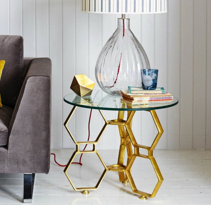 Modern Gold Side Table Design For Your Living Room Interior Alluring Side Tables For Living Room Review