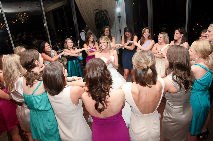 7. Southern Detail - Sorority sing by sisters present... dear old Alpha Sigma Tau, though we're far from thee, Still our hearts beat warm and true to thy dear memory. #wedding
