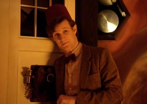 only this man can make a fez sexy