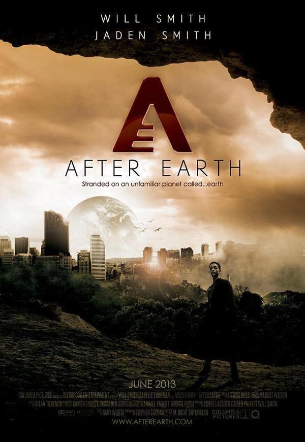 After Earth Teaser Poster Despues De La Tierra Promo Flyer Cine