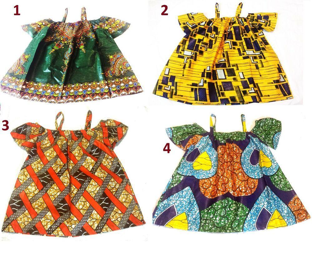 African Fabric Ankara Kente Reversible Medium Amp Large Sz