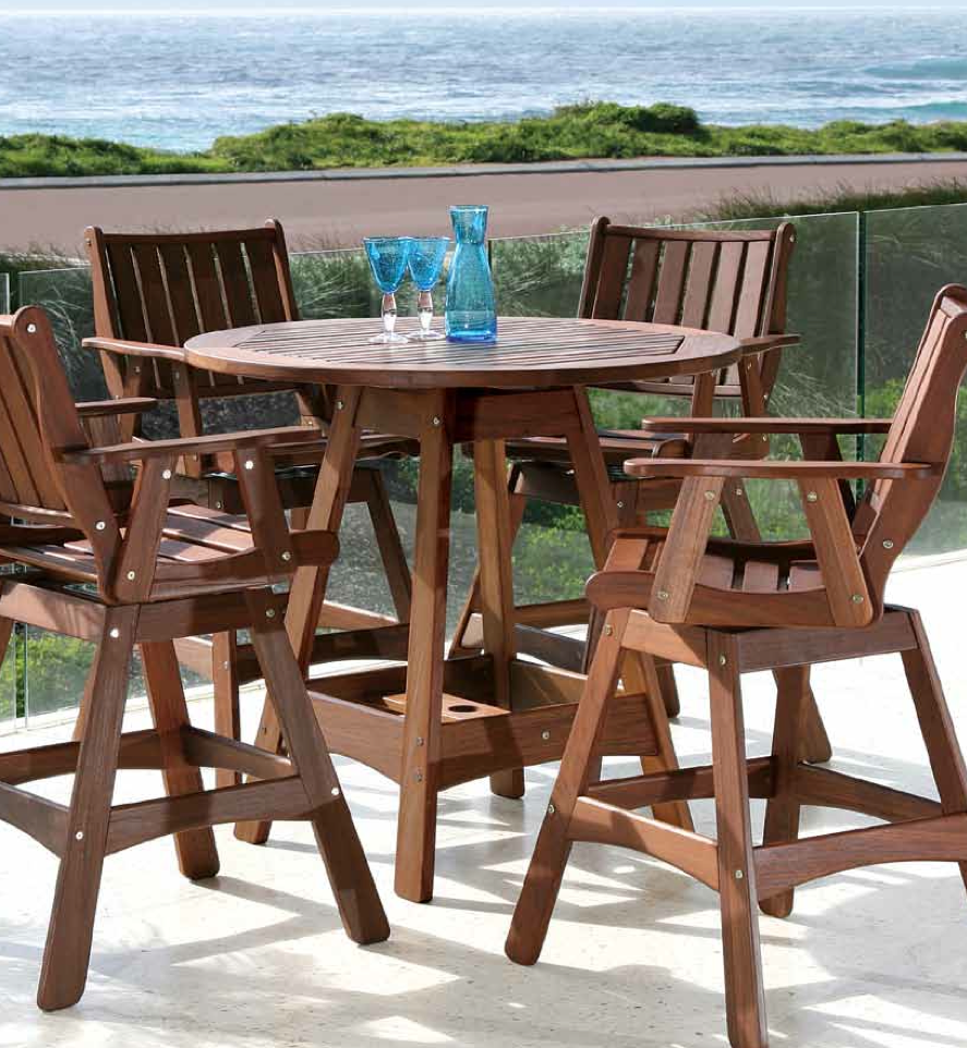 Blog Post Featuring Jensen Leisure Natural Ipe Wood Furniture. The Soft  Touch And Feel Of Wood With The Durability To Stand Against The Elements!