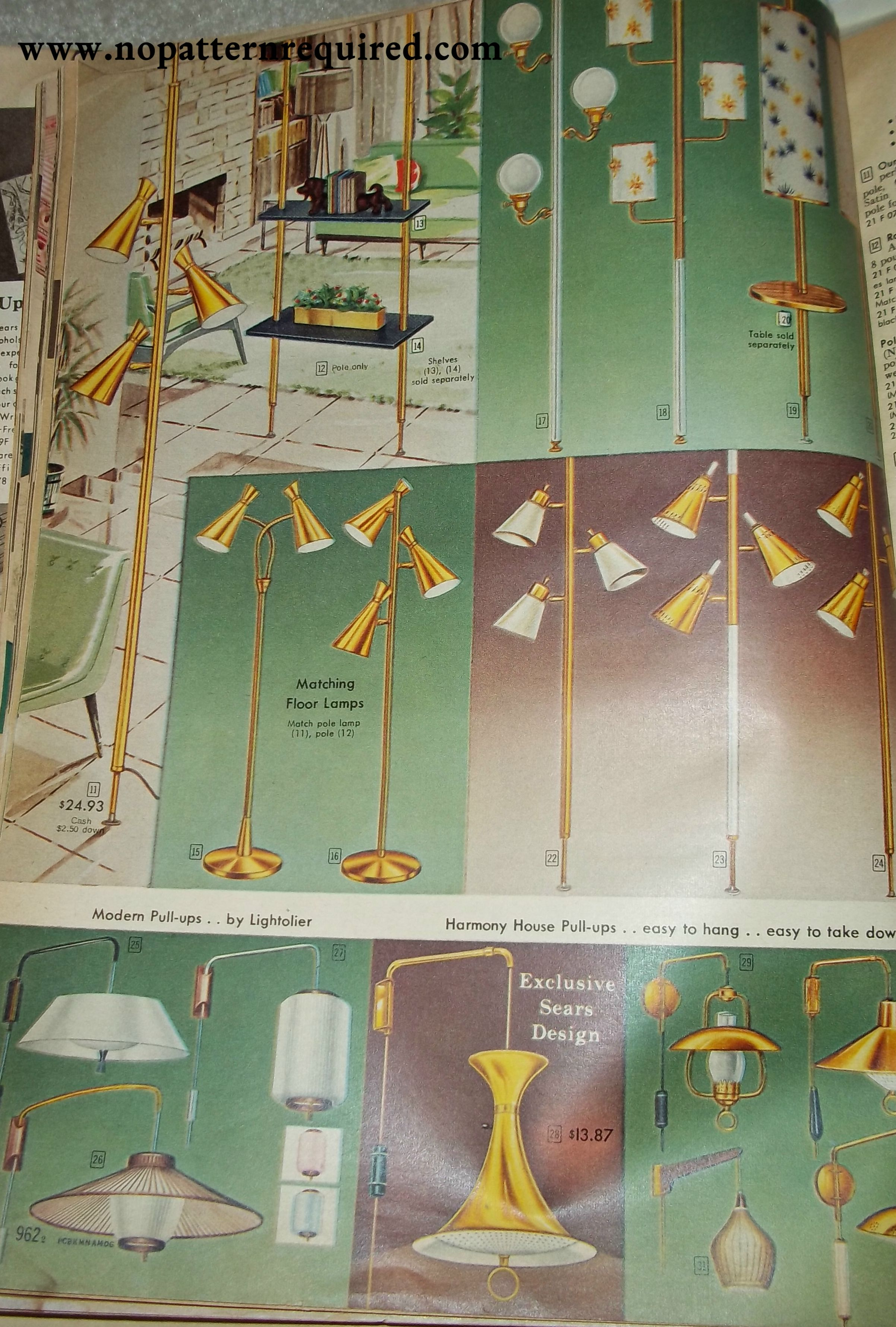 1959 fall and winter sears catalog lamps and light fixtures retro 1959 fall and winter sears catalog lamps and light fixtures arubaitofo Choice Image