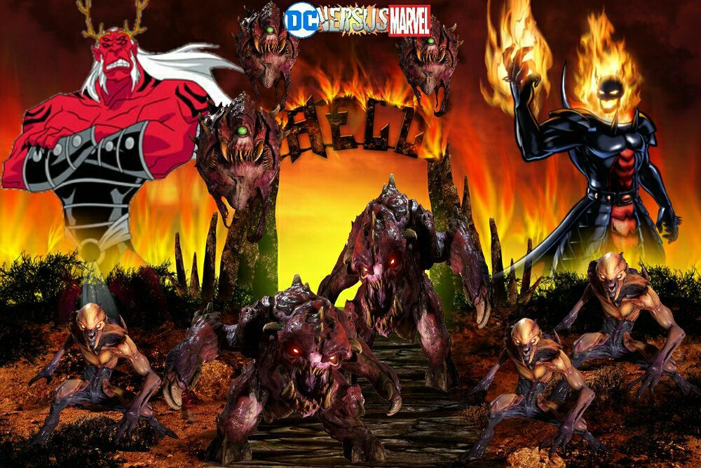 Marvel Vs Dc Wallpapers Trigon And Dormemmu