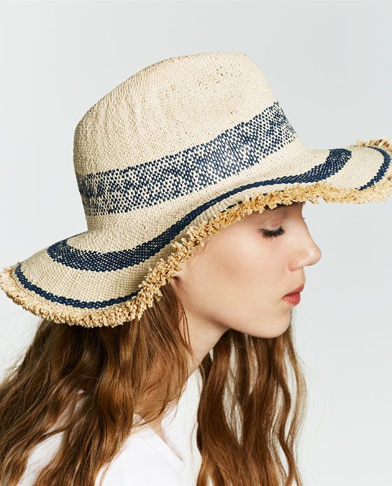 cf3ac717ab917 Image 3 of STRIPED HAT from Zara