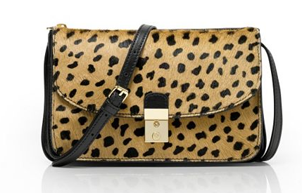 Bag Tory Burch Priscilla Haircalf Clutch