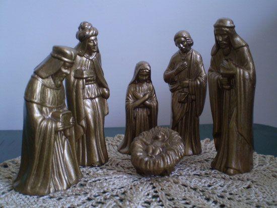 Sagrada Familia en un  material similar a la pasta plástica.