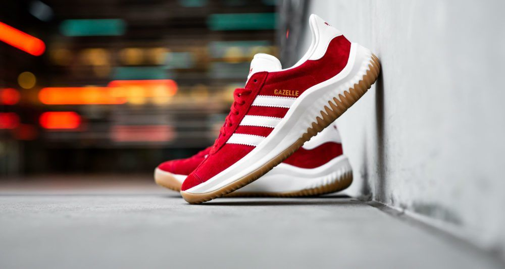 check out 29c3d fa681 The Shoe Surgeons adidas Dame 4 x Gazelle Hybrid