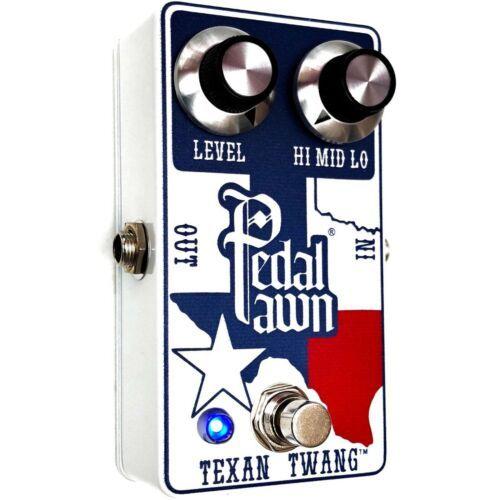 New 2020 Pedal Pawn Texan Twang Guitar Pedal | Cesar Diaz Texas Ranger