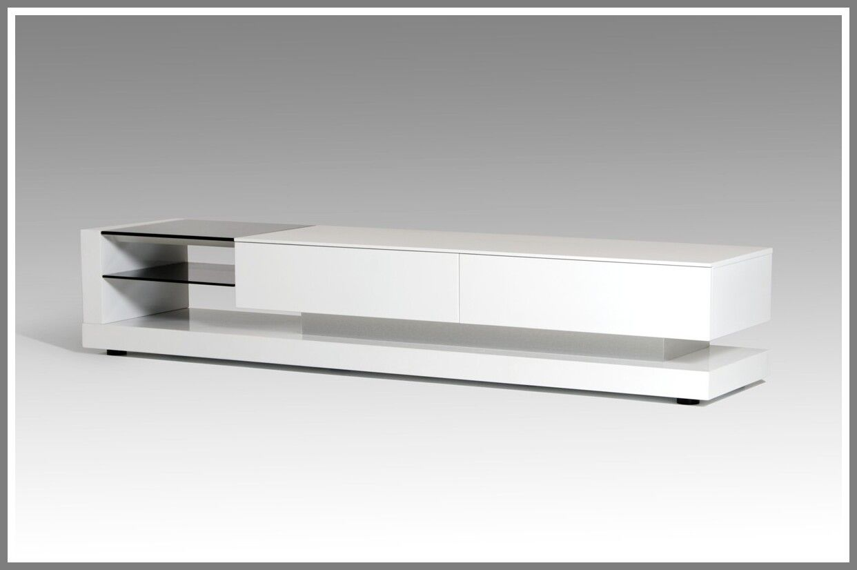 92 Reference Of White Gloss Tv Stand Small In 2020 Modern Tv