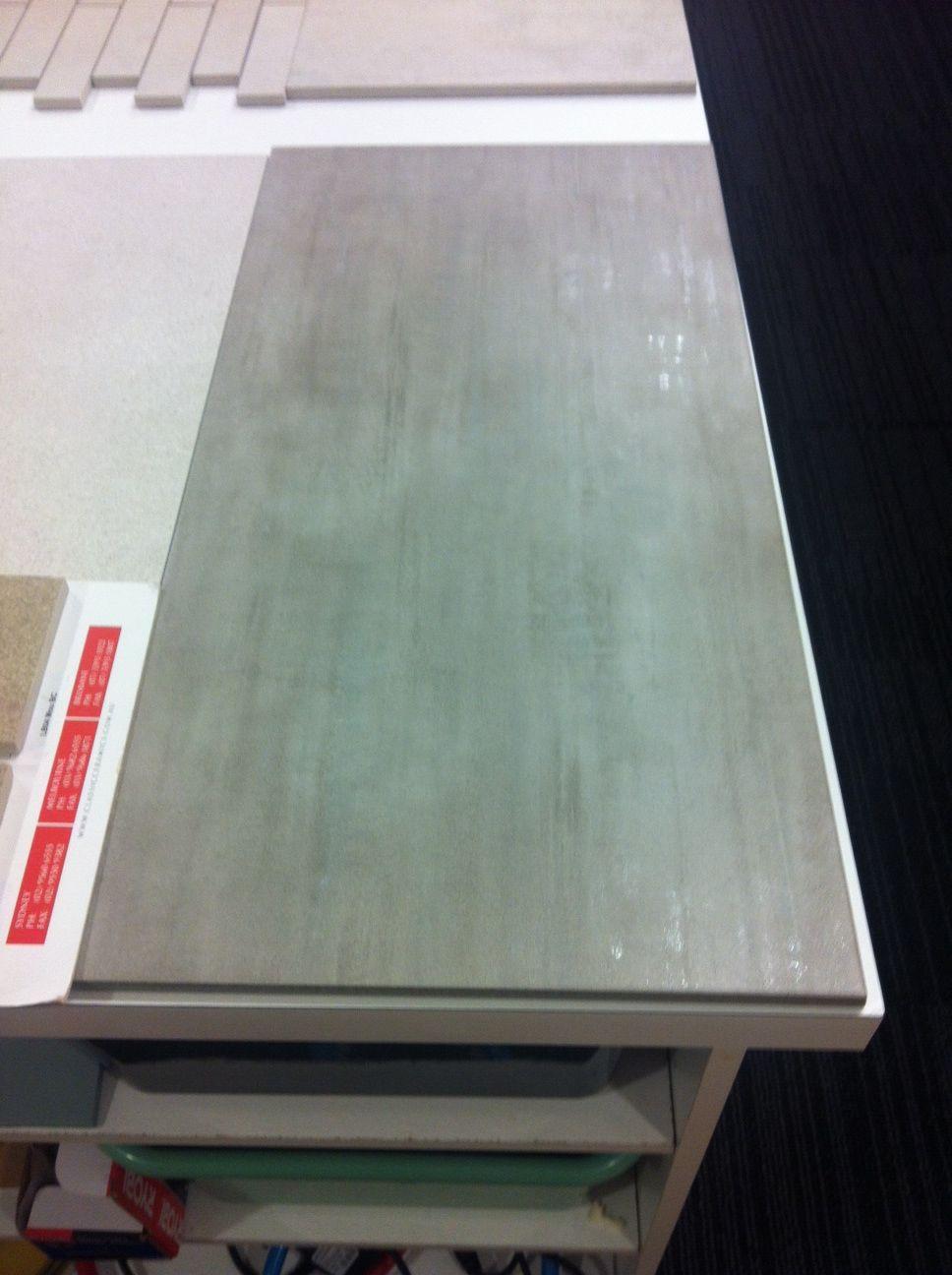 Large Format tile - light colour metallic streak through tile ...