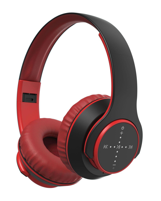 3f9a0759f7e Gentek Red H5 Smart Control Wireless Headphones   *Audio Components ...