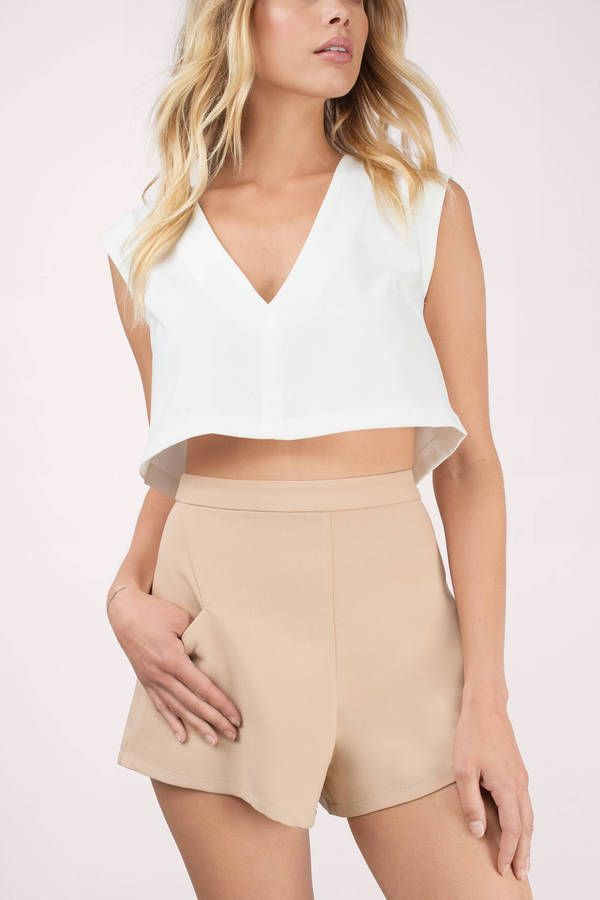 Tunnel Vision High Waisted Shorts | Shorts, Culotte and Dressy shorts