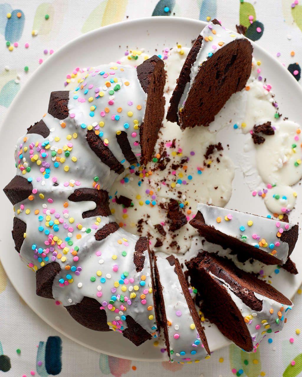 Recipe Birthday Bundt Cake Рецепт