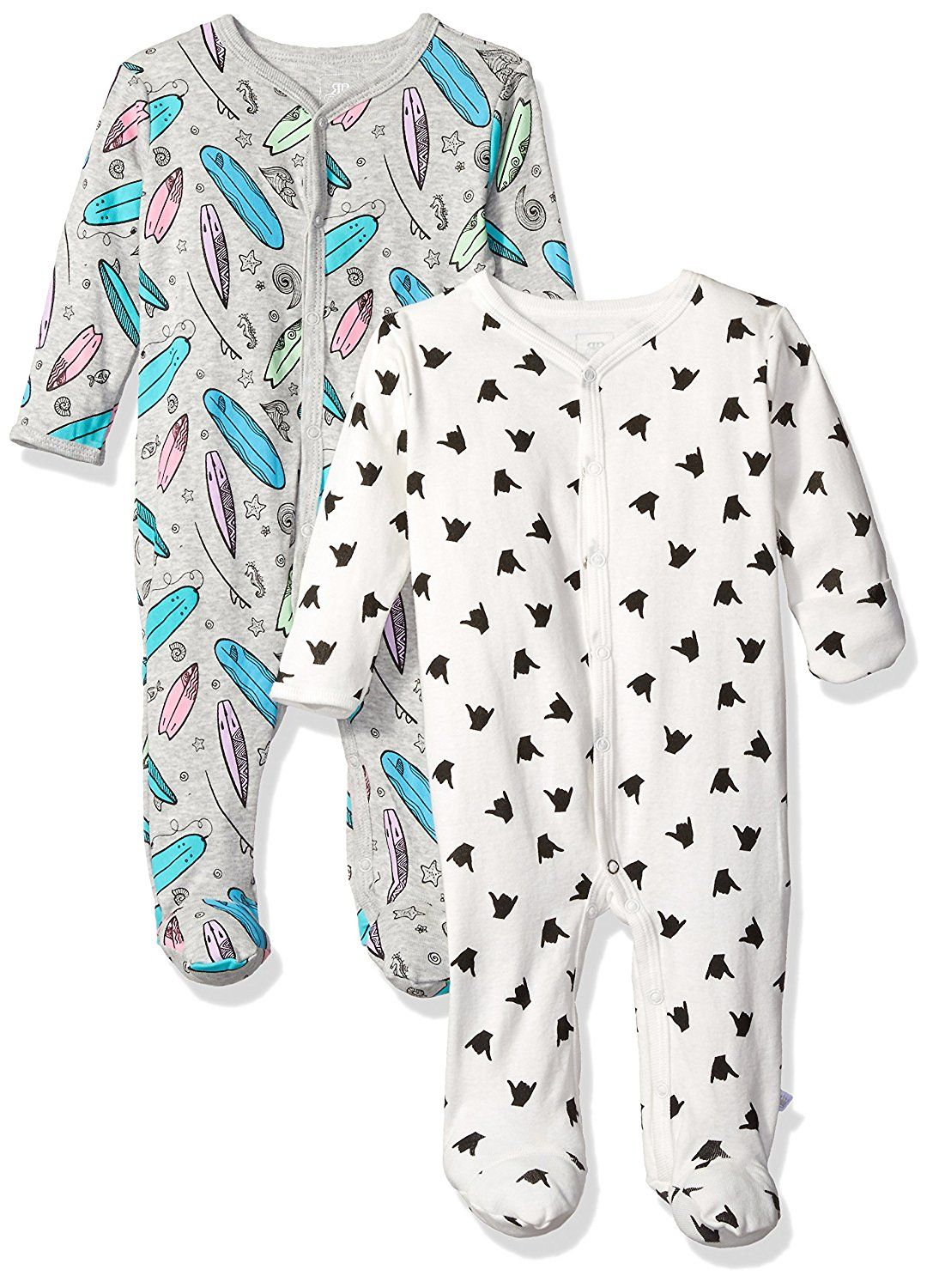 2868f4e93 Rosie Pope Baby Boys  Coveralls 2 Pack