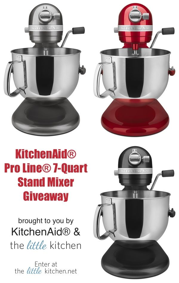 Kitchenaid Stand Mixer Giveaway Thelittlekitchen Saay March 1 2017 At 11 59 Pm Est