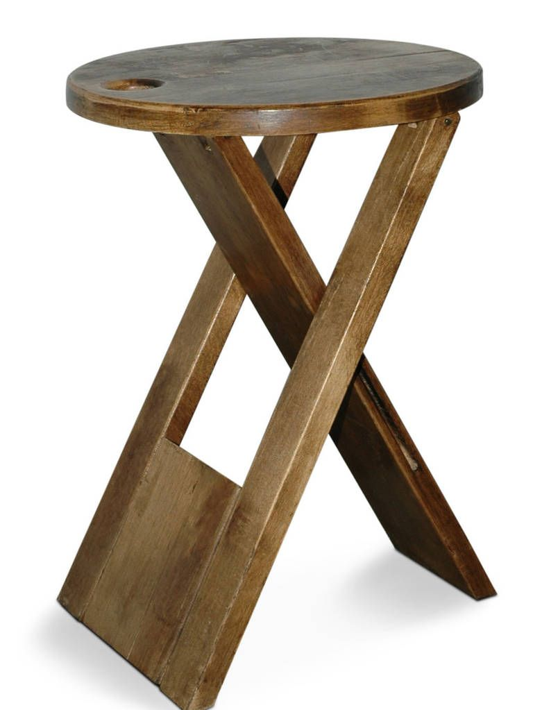 Ts Folding Stool By Roger Tallon Baubles And Meubles