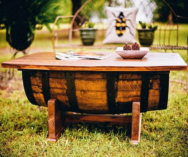 table tonneau | Salon de jardin | Pinterest | La chaise longue ...